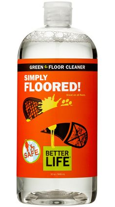 Simply Floored - light clean smelling citrus floor cleaner. A little goes a long way. Hardwood floors cleaned easily and dried fast to a streak free shine with NO haze or cloudiness!! Floors look brand new!! Love this