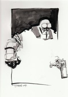 Hellboy by Tim Sale.
