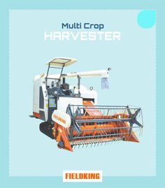 Combine harvester is one of the versatile agriculture machinery used for the harvesting of paddy, wheat, corn, barley, pulses & soybean. A combine harvester can finish the entire process of harvesting from harvesting, threshing, and grain cleaning in a single step. Using the harvester properly can not only increase the working efficiency but also can increase its service life. Read more #properuseofcombineharvester #combineharvester #useofharvester #useofcombineharvester #combine… Harvest Corn, Agriculture Machine, Combine Harvester, Labour Cost, Great Inventions, Farmers, Cleaning, History, Top