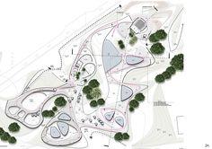Pin by spiea on plan masterplan architecture, architecture portfolio layout, The Plan, How To Plan, Landscape Diagram, Landscape Design Plans, Architecture Design Concept, Architecture Portfolio, Portfolio Design, Masterplan Architecture, Plan Sketch