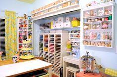 craft space room decor ideas storage