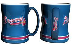Atlanta Braves Coffee Mug - 14oz Sculpted