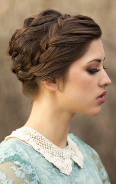Smooth+Updos+for+Medium+Hair | Formal Updos for Medium Hair
