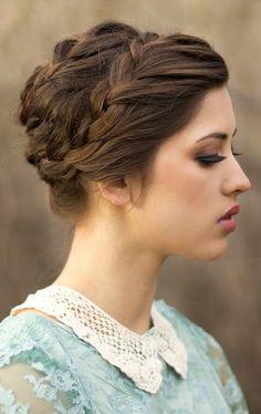 Smooth+Updos+for+Medium+Hair   Formal Updos for Medium Hair