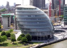 #Architecture - City Hall, #London, #England