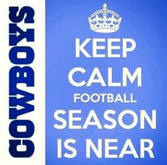 So Ready for Football Season  Dallas Cowboys <3