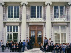 In this whole courtyard, the steps to the school, was where everyone wanted to be. They wanted to be with the golden people. In the lunch hall, their table was always in the center, the epitome of popularity.