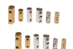 #ConnectorsBrass  #ElectricalConnectors #BrassConnectors   #BRASSCONNECTORS  #ELECTRICALCONNECTORSINSERTS FOR  #STRIPCONNECTORS    We are manufacturers from Jamnagar of various types of electrical connectors Brass strip connectors.We can offer Brass connectors for terminal blocks with or without screws. All our wire strip connectors inserts for connectors are threaded with Go and not go quality threaded fasteners.