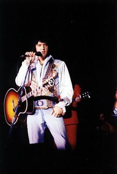 Fayetteville,NC. August 3, 1976. Elvis opened this tour on July 23rd in Louisville, KY. and ended it with three shows in Fayetteville, NC. on the 3rd, 4th and 5th of August. The first show was reported as being an hour and fifteen minutes long while the second show lasted an hour and the last one 50 minutes.