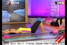 Ebru Şallı Plates Göbek ZAyıflama