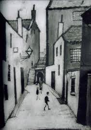 Dewars Lane - L S Lowry