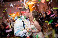 Confetti and a Kiss!!
