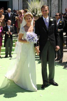 La boda de la princesa Carolina de Borbón y Parma