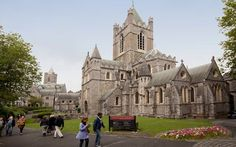 Christ Church. Photo: Tourism Ireland  Christ Church has had a few makeovers down the centuries but retains its gothic splendor even as its flying buttresses sweep over one vault that dates, with little or no refurbishment, to the twelfth century.    Christ Church predates its near neighbor, St. Patrick's Cathedral, founded in 1191, by a century-and-a-half.