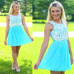 BESTSELLER! Over The Top Dress in Mint $49.50