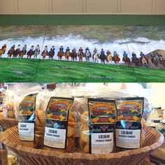 After the most beautiful drive through Hamakua and Kohala, The Parker Ranch Store in Waimea is a MUST. These special Liliko'i Paniolo Cookies are made by a cute little old couple just 20 minutes from the store. You can only get these exclusively here or at parkerranchstore.com #pikakepursuit #madeinhawaii #momandpop #supportlocal #cookies #hawaii #nom #lilikoi #paniolo #parkerranch #christmas #ideas