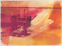 Andy Warhol. Untitled from the portfolio Electric Chairs. 1971