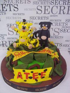 marsupilami cake