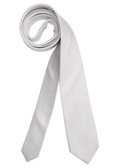 Produkttyp , Krawatte, |Material , Seide, |Materialzusammensetzung , Obermaterial: 100% Seide. Futter: 100% Acetat, |Farbe , Weiß, |Optik , Uni, |Stil , Schmal, |Breite , 6 cm, | ...