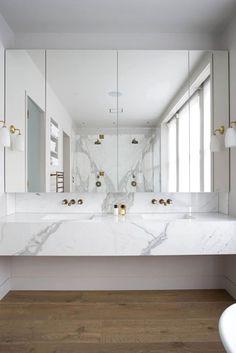 marble & wooden floor