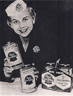 Sensible packaging from the people who brought you the six-pack; Pabst. We should bring back the proper sized can!