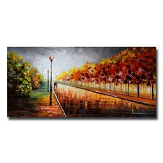 Just the Two of Us Landscape - Canvas Wall Art Print