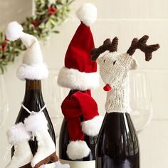 Spread cheer with seasonal #wine accessories. They make great host and hostess gifts!