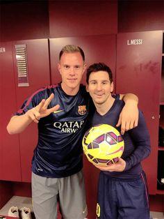 Lionel Messi - Marc Andre Ter Stegen
