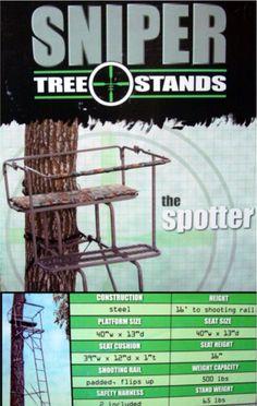 Sniper Spotter Ladder Deer Stand.