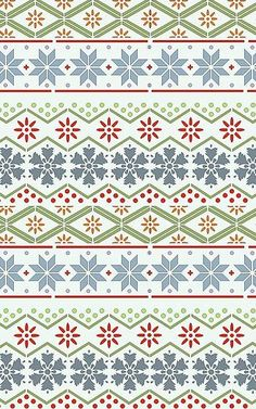 Nordic pattern. Maybe we could create this image (like our wrapping paper) as the background?: