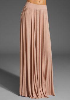 Rachel Pally seam maxi rib skirt
