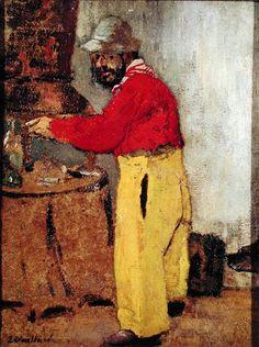 Edouard Vuillard | Henri de Toulouse-Lautrec at Villeneuve sur Yonne (1898)