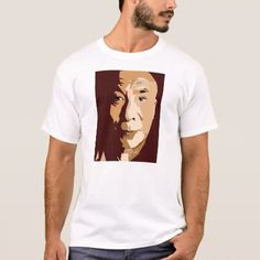 Pierre Renoir- Portrait of Stephane Mallarme T-Shirt - click/tap to personalize and buy Shirt Print Design, Shirt Designs, Giraffe Images, Printed Shirts, Tee Shirts, Famous People, Shirt Style, Fitness Models, Casual