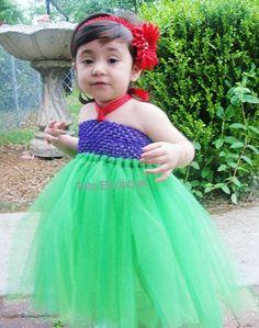 Inspired Little Mermaid Tutu Dress- Toddler