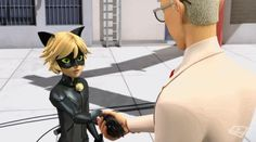 After this episode I am sure that Mr. Agreste knows that Adrien is Cat Noir. Whether Mr. Agreste is Hawk Moth is yet to be confirmed, but I just KNOW that Gabriel Agreste knows about Adrien's biggest secret.