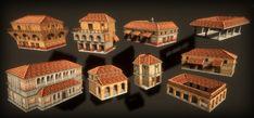 Roman City, Game Dev, Asset Store, Negative Space, Art Logo, Creative Art, Unity, Rome, Empire