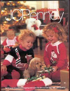 JCPenny catalogs  - my girlfriend and I would POUR over this when it came out -- I remember really wanting corduroys...