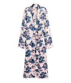 Long satin coat | Ladies | H&M AE