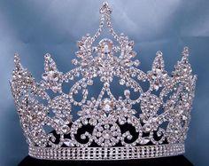 Continental Adjustable Rhinestone Crown Tiara – CrownDesigners