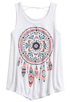 Twist Back Tank (original price, $22.90) available at #Justice