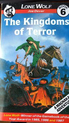 Lone Wolf: the Kingdom of Terror, Joe Dever (1985)