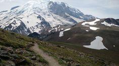 An afternoon hiking Mt Rainier (4160x2340)