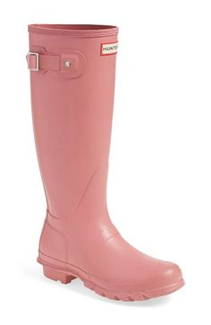 Hunter 'Original Tall' Rain Boot (Women) available at #Nordstrom in hunter green