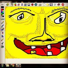 """""""Indiego's digital drawing: """"Mukakuning"""""""""""