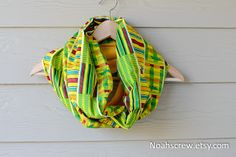 Noah's Crew: Kente and Ankara African wax print scarves/snoods/cowls