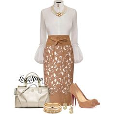 Classy but sassy dressy outfit for work or any function where style matters. Classy but sassy dressy outfit for work or any function where style matters. Estilo Fashion, Ideias Fashion, Mode Style, Style Me, Daily Style, Classic Style, Style Feminin, Mode Shoes, Looks Chic