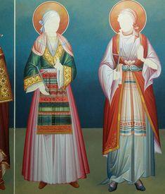 Byzantine Icons, Byzantine Art, Christian Art, Religious Art, Fresco, Princess Zelda, Fictional Characters, Beauty, Orthodox Icons