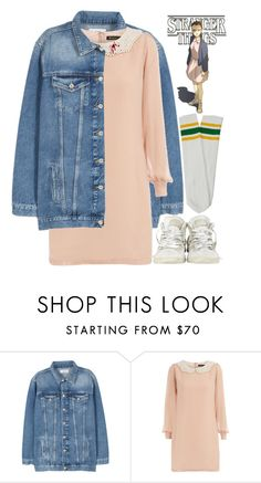 """Eleven"" by hollowpoint-smile ❤ liked on Polyvore featuring MANGO, Dorothy Perkins, Converse, 80s, retro, netflix, Eleven and StrangerThings"