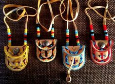 Excellent Photo indian Beadwork Ideas Carefully thread stress can easily make a massive affect how your diamond jewelry looks. No-one wishes to inv Indian Beadwork, Native Beadwork, Native American Beadwork, Native American Jewelry, Native Indian Jewelry, Native American Moccasins, Native Beading Patterns, Beadwork Designs, Beaded Jewelry Patterns