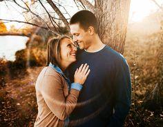 Nebraska engagement session. Brett Brooner Photography.